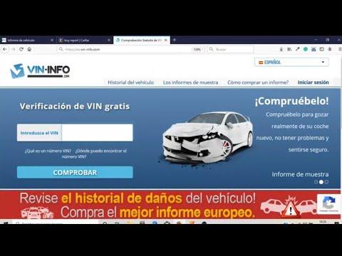 Consejos comprar coche segundamano - Historial