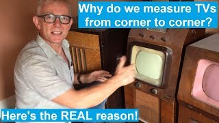Why are TV screens measured diagonally?  Gavin from Bang & Olufsen of Lincoln explains!
