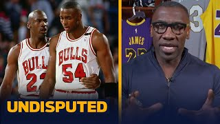 Shannon reveals what Horace Grant told him on the phone about Michael Jordan | NBA | UNDISPUTED