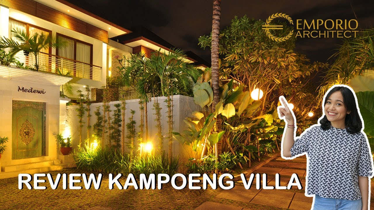 Video Construction Result of Kampoeng Villas - Kerobokan, Bali