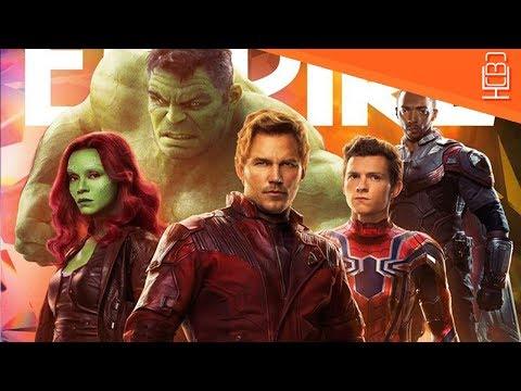 Iron Spider-Man, Falcon, The Hulk & More Empire Reveals