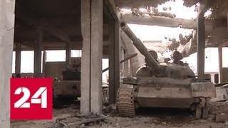 Машины войны: в Акербате уничтожены три завода по производству шахид-танков - Россия 24