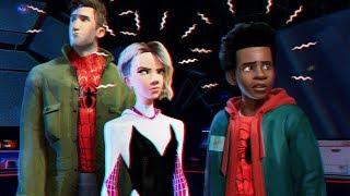 Las versiones de Spider-Man en Into The Spider-Verse