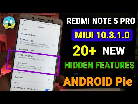 Redmi Note 5 Pro MIUI 10 3 1 0 Update Full Review Many New Features