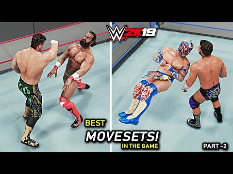 WWE 2K19 Top 10 Best Movesets In The Game!! Part 2