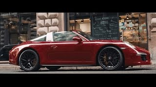 All that matters: Scott Schuman meets the new 911 Targa 4 GTS