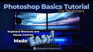 Photoshop Basics Tutorial For Beginners – Keyboard Shortcuts And Mouse Controls