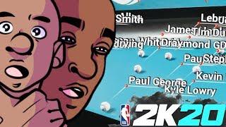 NBA 2K20 Marbles of Choke Artists