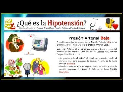 Efecto de las cargas sobre la presión arterial