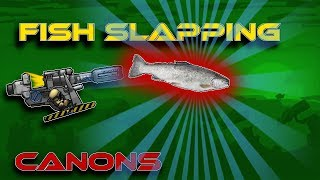 FISH Slapped! (Trout Cannon Mod Spotlight) - Forts RTS [108]