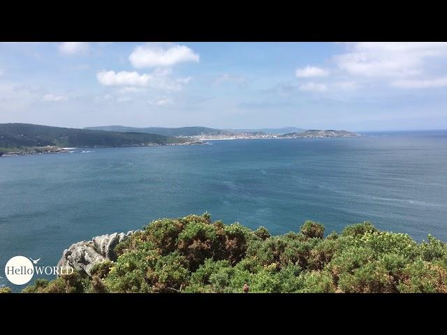 Ausblick auf dem Weg nach Ponteceso