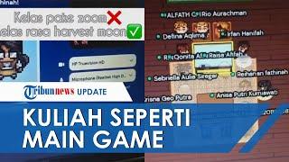 Viral Video Kuliah Online seperti Bermain Game, Dosen Bikin Inovasi Kelas Rasa Harvest Moon
