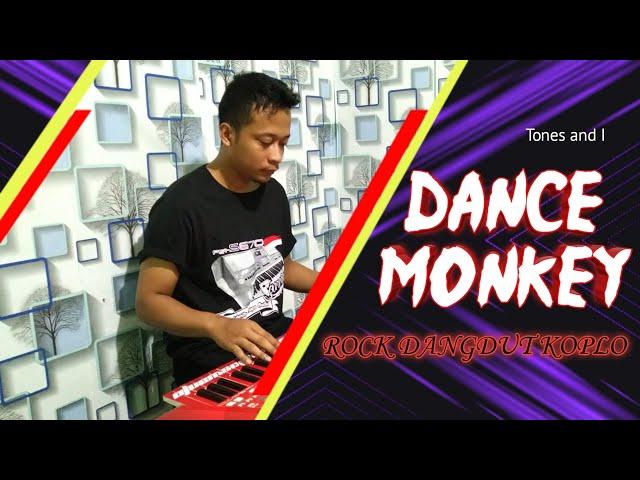 Tones and I - dance monkey cover rock dangdut koplo keyboard yamaha PSR