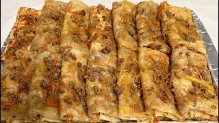 YUPQA / Юфка. The best Uzbek traditional food Yufka. English subtitles
