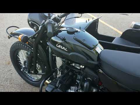 2018 Ural Sidecar Motorcycle GearUp 2WD