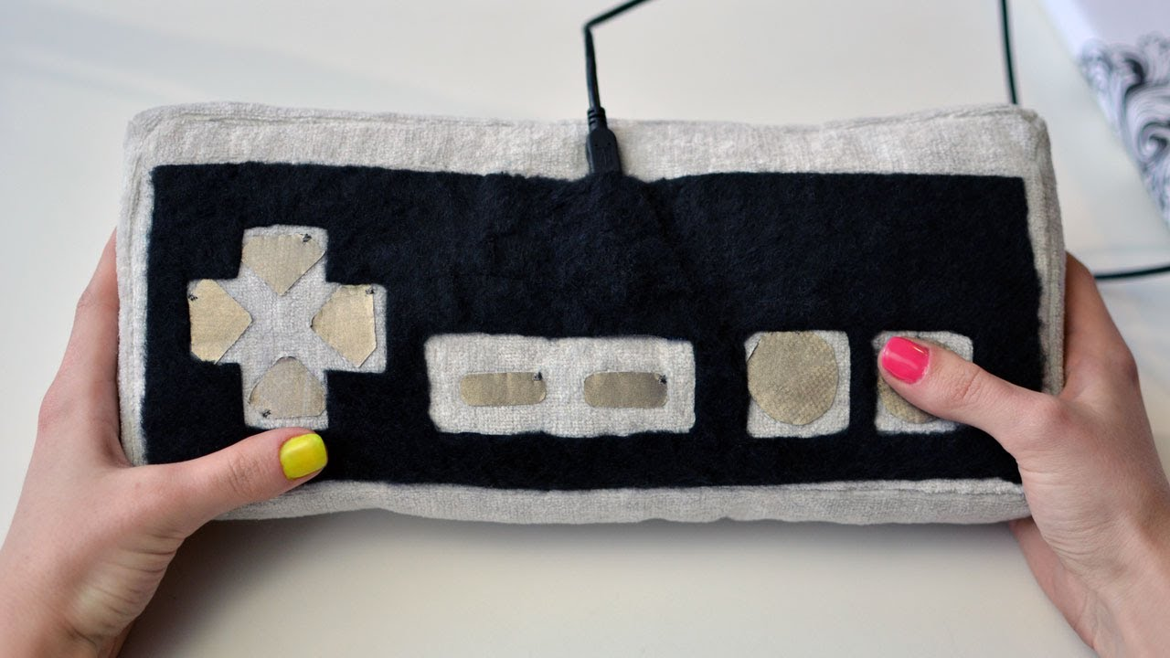 You Are Only Sewing Skills Away From A Huggable, Functional Plush Game Controller