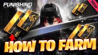 HOW TO FARM BLACK CARDS (BEGINNER GUIDE) Punishing: Gray Raven