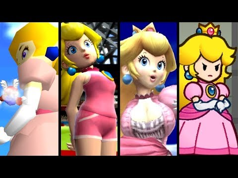 Super Mario Top 10 GIANTESS PEACH Mods (N64 - Wii U