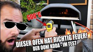 600 °C MOBILER PIZZAOFEN!!! Wir testen den Ooni Koda Pizzaofen!