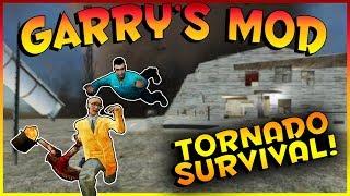 HUGE F6 TORNADO SURVIVAL?! | Garry's Mod Gameplay | Gmod Roleplay (Kid Friendly Gaming!)