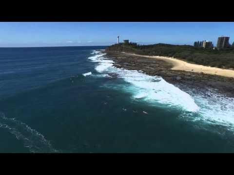 Point Cartwright surf via drone