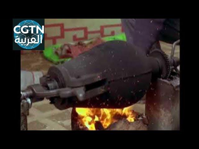 شاهد طريقة إعداد الفشار في الصين !