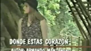 Donde Estas Corazon - Roberto Ledesma  (Video)