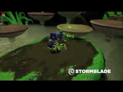 Видео № 0 из игры Фигурка Skylanders SuperChargers: Stormblade