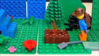 preview picture of video 'der schatz - Computerkids go Brickfilmers an der vhs Straubing'