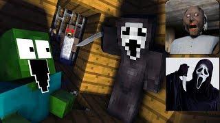 Monster School : SCREAM VS GRANNY HORROR GAME CHALLENGE - Minecraft Animation