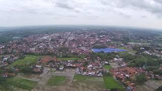 Video Pantauan Kota Purworejo Drone MJX Bugs B20 EIS