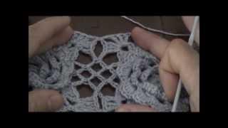 Piastrella alluncinetto con fiore in rilievo tutorial видео Видео
