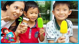 น้องบีม   ไอติมสามสี Ice Cream