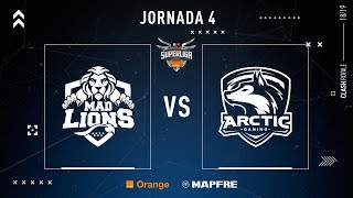 MAD Lions E.C. VS Arctic Gaming | Jornada 4 | Temporada 2018-2019
