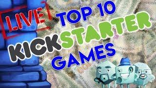 Top 10 Kickstarter Games