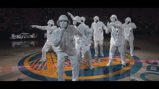 JABBAWOCKEEZ at NBA Finals 2016