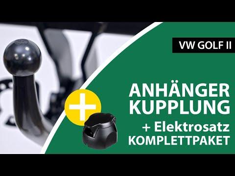 Anhängerkupplung starr VW GOLF II    AUTO-HAK Komplettsatz + Montage von Rameder