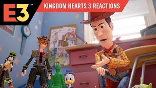 Kingdom Hearts 3 Fan Reaction