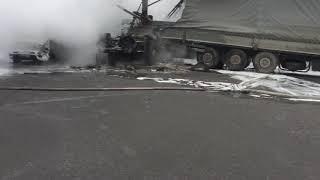 Очень страшная авария Киев 28 января 2018