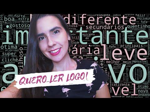 NUVEM DE PALAVRAS LITER�RIA - REACT ÀS RESENHAS DO SKOOB # 1 | Ana Carolina Wagner