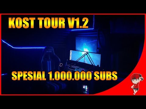 ROOM TOUR  GAMING (KOST tour) 2019 R Gamer Indonesia