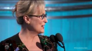 <b>Meryl Streep Speech The Golden Globes 2017</b>