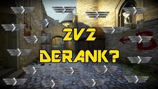 CS:GO - 2v2 Road to Global Elite #9 Derank?!?