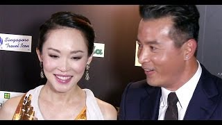 Fann Wong & Christopher Lee backstage interview, Star Awards 20