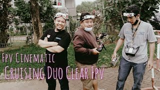 Fpv Cinematic No stabilisation | Just for fun.. Chasing Motorbike Duo Clear Fpv