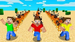 Minecraft BUT Moving = FIRE!