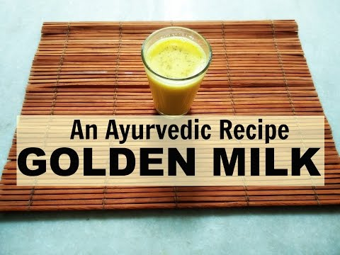 Video Herbal Golden milk for ARTHRITIS - An Ayurvedic recipe