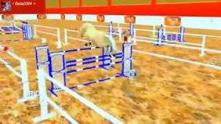 Jumpy Horse Show Jumping Free Jumping Breeders Cup + Bella2004 + Hannah 37.421191 sec 0 penalty p...