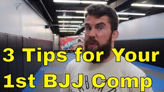 3 Essential Things You Should Know for Your 1st BJJ Competition