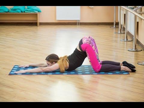 Гибкая спина. Растяжка на раскрытие грудного отдела и плечевых суставов. Прогибы.